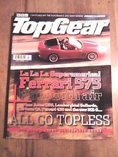 TOP GEAR MAGAZINE JUL-2005 - Audi R8, Aston DB9 Volante, Ferrari F430 Spider