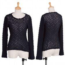 robe de chambre COMME des GARCONS Wool knit tops Size About M(K-39466)