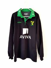 Norwich City Jumper. Small Adults. Black Long Sleeves Football Top.