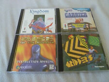 PANASONIC 3DO GAME LOT KINGDOM FAR REACHES CARRIER FORTRESS RISE ROBOTS GRIDDERS