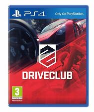 DriveClub PlayStation 4 New Sealed Official Bundle Copy PS4 Game Drive Club