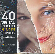 40 Digital Photo Retouching Techniques-ExLibrary