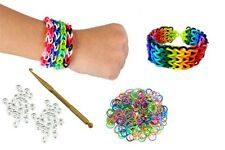 Loom Bands Rainbow Rubber Band Bracelet Maker Starter Kit DIY