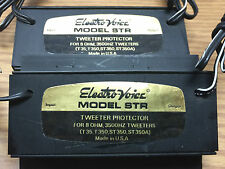 TWO ELECTRO-VOICE STR TWEETER PROTECTION UNITS ST-350A HORN TWEETER