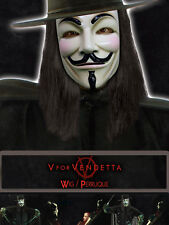 V FOR VENDETTA Guy Fawkes Wig Licensed Product Adult NEW