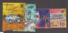 SINGAPORE #790-#793 USED SET VF