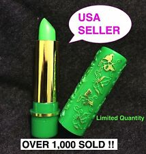 1 HARE MAGIC MOROCCAN CHANGE COLOR GREEN PINK HENNA MOOD LIPSTICK AUTHENTIC USA