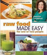 Raw Food Made Easy for 1 or 2 People by Jennifer Cornbleet (2012, Paperback,...