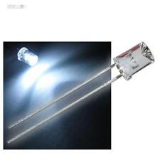50 x LED 5mm cóncava blanco con Accesorios Blanco cóncava LEDs