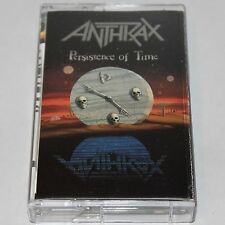 Anthrax Cassette Tape Persistence Of Time Thrash Heavy Metal '90 Megaforce
