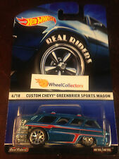 Chevy Greenbrier Wagon * 2015 Hot Wheels Heritage w/ Real Riders * W
