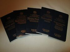 BARRONS FINANCIAL TABLES FOR BETTER MONEY MANAGEMENT - LOT OF 5
