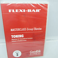 FLEXI-BAR MASTERCLASS GROUP EXERCISE, TONING, 2ND EDITION, BRAND NEW (B8)