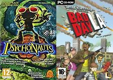 Psychonauts & american mcgee presents bad day la   new&sealed