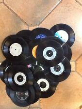"Job lot  30 X 7"" vinyl records for up-cycling Craft Hobbies Etc Free Post"