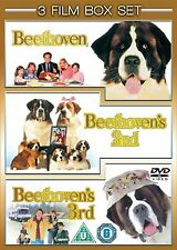 Beethoven/ Beethoven's 2nd/ Beethoven's 3rd Judge Reinhold NEW SEALED UK R2 DVD