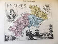 LA FRANCE ET SES COLONIES DEPARTEMENT DES HAUTES  ALPES  VOIR DESCRIPTIF
