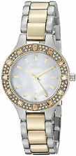 DKNY NY8742 Chambers Mother of Pearl Dial Two Tone Stainless Women's Watch