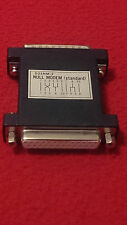 d25nm-2 null modem adapter standard