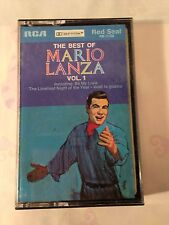 THE BEST OF MARIO LANZA VOL 1 ~ RCA RED SEAL RK-1130 CASSETTE TAPE