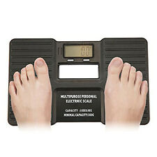 LCD Display Potable Personal Digital Bathroom Body Electronic Weight Scale