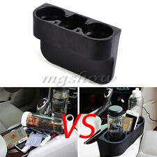 Universal Car Seat Seam Wedge Drink Beverage Cup Holder Box Mobile Iphone Mount