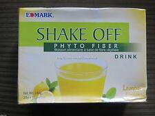 FREE SHIP! 1 BOX EDMARK SHAKE OFF PHYTO FIBER DETOX DRINK NEW LEMON FLAVOR!