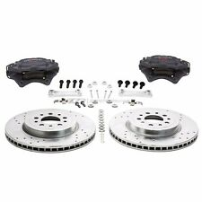"ZZPerformance 13.6"" Front Brake Kit W/ Brembo calipers For 2000-05 Monte Carlo"