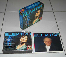 Box 2 Cd Richard Strauss ELEKTRA Wolfgang Sawallisch Eva Marton Cheryl Studer