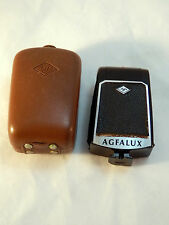 Vintage Agfa Agfalux Folding Flash Unit with Case Used
