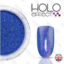 LASER HOLO EFFECT NAIL ART POWDER  GEL & ACRYLIC Holographic  Royal Blue 25