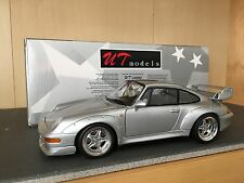 1/18 UT Models Porsche 911 (993) GT2 street car silver SHIPPING DISCOUNT LIMITED