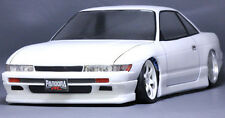 1/10 RC Car Body Shell NISSAN SILVIA S13  Drift  W/ Light Buckets