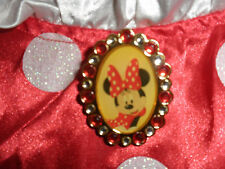 DISNEY STORE MINNIE MOUSE Costume LARGE 10 LARGE Childs NEW LG L