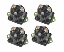 FOUR NEW WINCH SOLENOIDS 4-Terminal for WARN 72631, 28396 Solenoid Relay HD