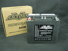 Ultima Thundervolt AGM Battery for Harley XL 1979-1996 OEM 65991-82B