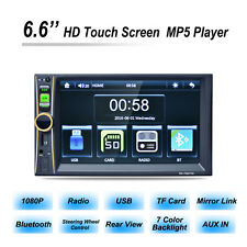 "6""HD Double 2DIN Car Stereo MP5 Player Bluetooth Touchscreen MP3 FM Radio USB SD"