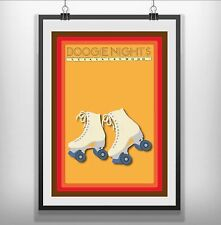 Boogie Nights Minimalist Minimal Film Movie Print Poster