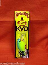 STRIKE KING KVD 1.5 Square Bill Crankbait #HCKVDS1.5-561 Powder Blue Back Chart