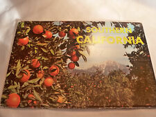 Western Publishing & Novelty Co Southern California Fold Out Post Cards VINTAGE