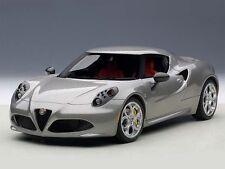 Autoart Alfa Romeo 4c 2013 Grey met. 1:18 (70187)