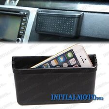 Auto Car Mobile Cell Phone Charging Hole Garbage Storage Box Container Organizer