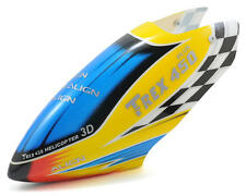 AGNHC4173 Align 450 Plus Plastic Painted Canopy (Yellow/Blue/Red)