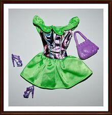 Beautiful  Barbie Clothes Set - Mattel - Fashionista, Fashion Avenue, Lot 2304