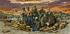 """We Build, We Fight"" James Dietz Limited Edition Artist Proof Print - Seabees"