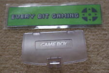 NEW CLEAR ATOMIC PURPLE BATTERY COVER NINTENDO GAMEBOY COLOR GAME BOY COLOUR UK