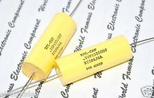1pcs-REL-CAP RT 0.1uF (0.1µF 100nF) 600V 5%  Capacitor RT104J6A For Audio