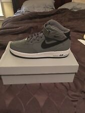 NIKE AIR FORCE 1 MID 07 COOL GREY-BLACK-WHITE SZ 11 [315123-026]