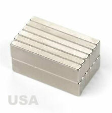10PCS Super Strong Block Cuboid Bar Magnets 25.4 x 6.35 x 2.54mm crafts projects