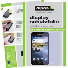 1x Samsung Galaxy S WiFi 5.0 Schutzfolie matt Displayschutzfolie Antireflex